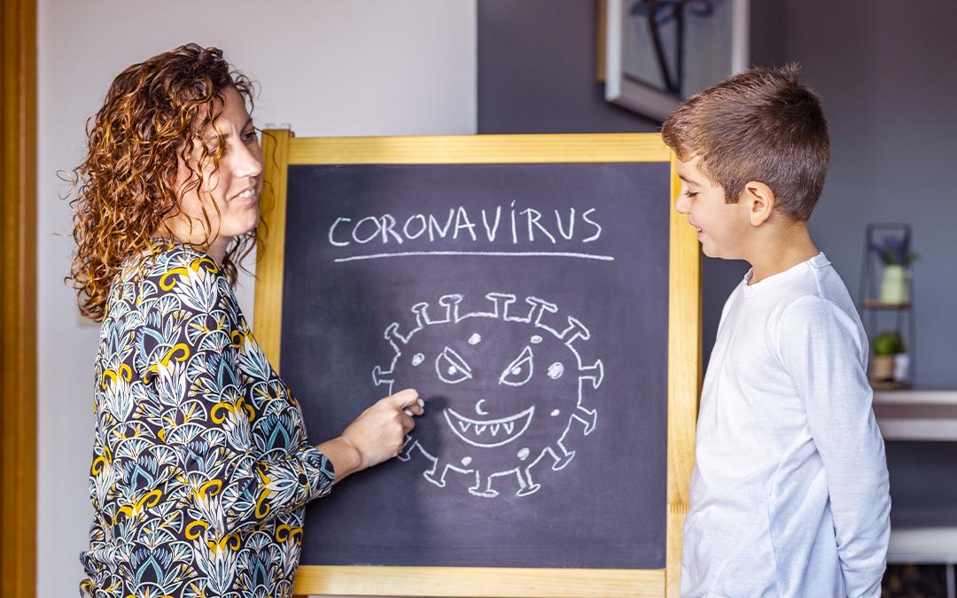 Parlare di Coronavirus ai bambini