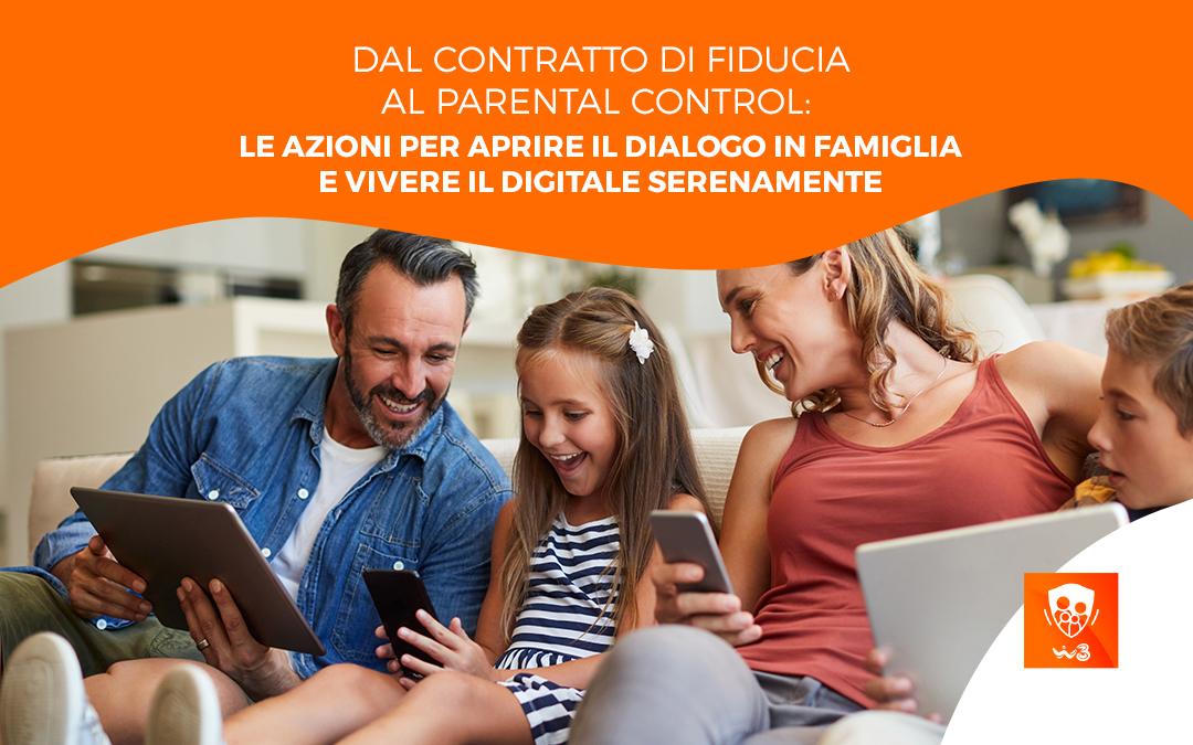 Dal contratto di fiducia al parental control