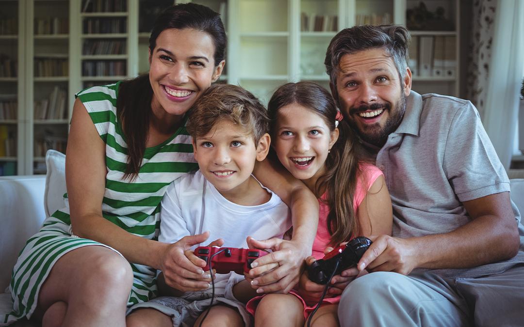 Videogiocare insieme ai figli